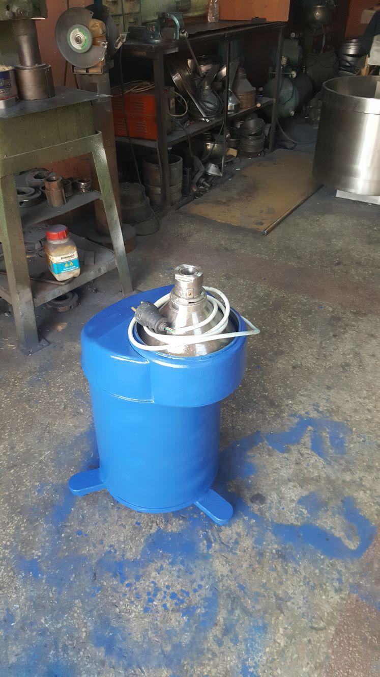 2 el 1 ton kapasiteli krema makinesi