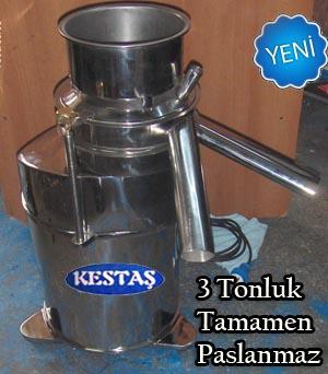 Yeni 3 tonluk süt makinası